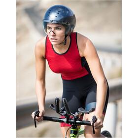 Santini Redux Traje Triatlón sin Mangas Mujer, rojo/negro